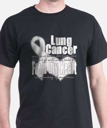 Mom Lung Cancer T-Shirt