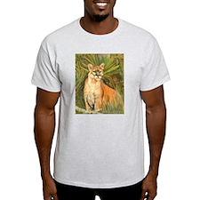 Florida Panther Ash Grey T-Shirt
