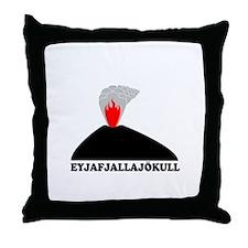Eyjafjallajokull Throw Pillow