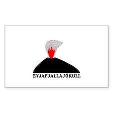 Eyjafjallajokull Decal