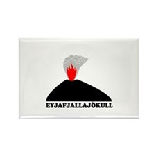 Eyjafjallajokull Rectangle Magnet