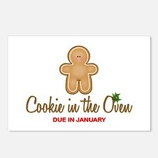 Due January Cookie Postcards (Package of 8)