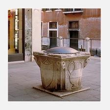 Italy Tile Coaster: <br> Italian well, Venice