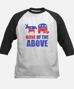 None of the Above Kids Baseball Jersey