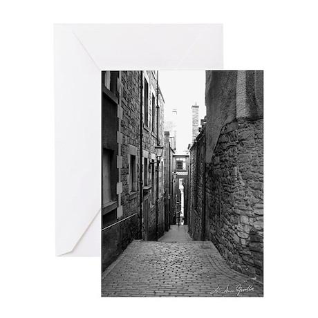 Anchor Close, Edinburgh Greeting Card