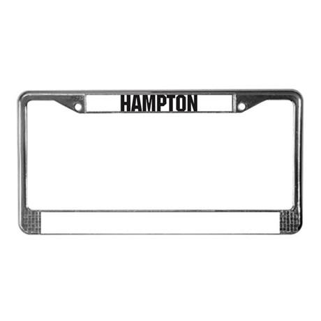 Hampton, Virginia License Plate Frame