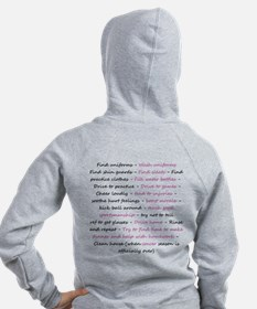 A Soccer Mom's Day Zipped Hoody