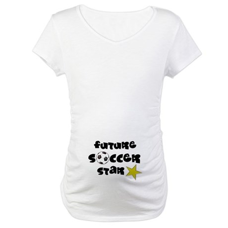 Future Soccer Star Maternity T-Shirt