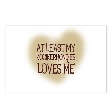 At Least My Kooikerhondjes Lo Postcards (Package o