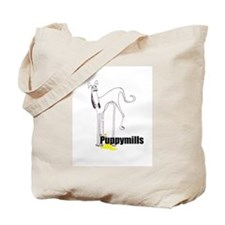Pee on Puppymills Tote Bag