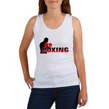 Funny Boxing Women's Tank Top