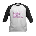 Tickled Breastcancer.org Kids Baseball Jersey