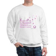 Tickled Breastcancer.org Sweatshirt