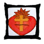 Sacred Heart/Sagrado Corazon Throw Pillow