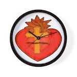 Sacred Heart/Sagrado Corazon Wall Clock