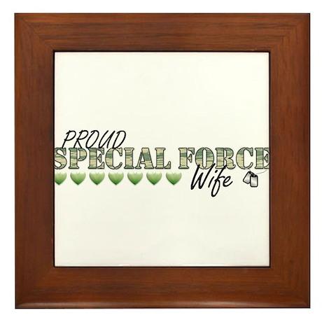 Wife Framed Tile