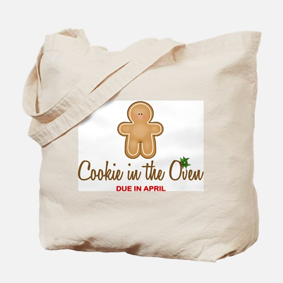 Due April Cookie Tote Bag