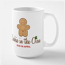 Due April Cookie Large Mug