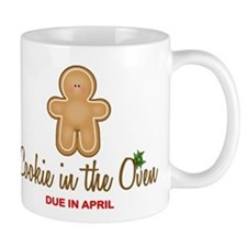 Due April Cookie Mug