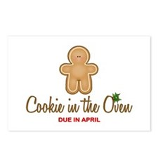 Due April Cookie Postcards (Package of 8)