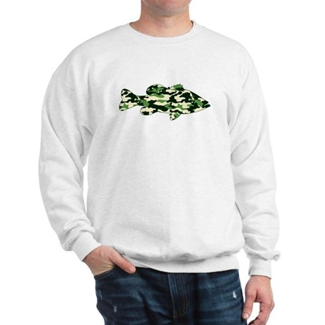 CAMO BASS Sweatshirt
