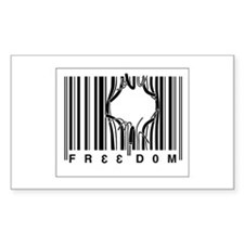 Funny Bar code Decal