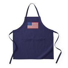 American Flag Apron (dark)