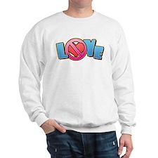No Love Heart Sweatshirt