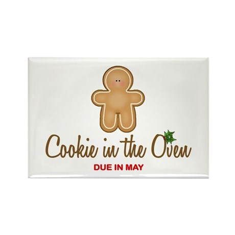 Due May Cookie Rectangle Magnet (100 pack)