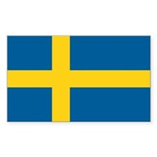 Swedish Flag Stickers