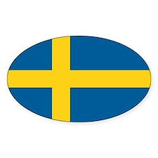 Swedish Flag Decal