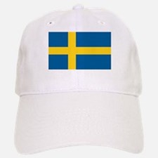 Swedish Flag Baseball Baseball Cap