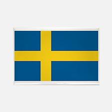 Swedish Flag Rectangle Magnet