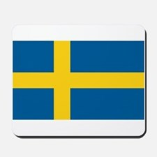Swedish Flag Mousepad