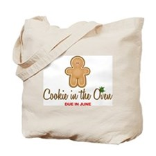 Due June Cookie Tote Bag