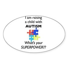 autism superpower5.001 Bumper Stickers