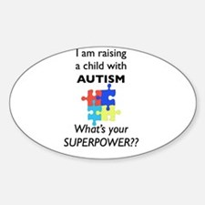 autism superpower5.001 Decal