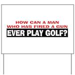 Play Golf? Yard Sign