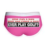 Play Golf? Women's Boy Brief