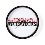 Play Golf? Wall Clock