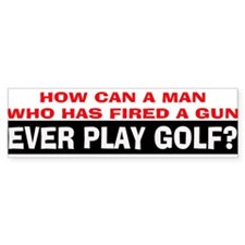 Play Golf? Bumper Sticker