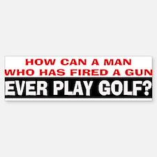 Play Golf? Sticker (Bumper)
