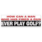 Play Golf? Sticker (Bumper 50 pk)