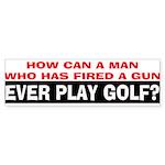 Play Golf? Sticker (Bumper 10 pk)