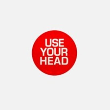 USE YOUR HEAD Mini Button