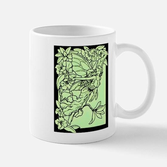 Gorgeous Green Faerie Mug