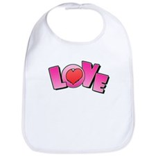 Love Valentine's Bib