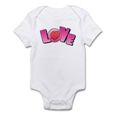 Love Valentine's Infant Creeper