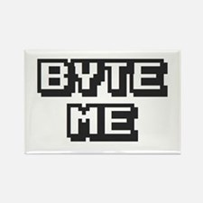 'Byte Me' Rectangle Magnet