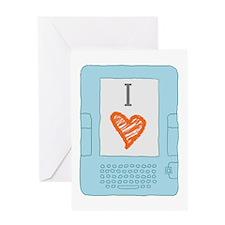 Cute Library tech Greeting Card